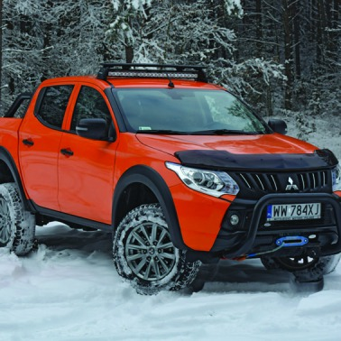 Mitsubishi L200 Monster. Tuning offroadowy